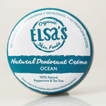 Elsa's Natural Deodorant Mini's - Ocean - Naked Pinecone