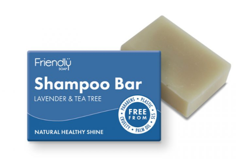 Friendly Soap - Shampoo Bar - Lavender & Tea Tree