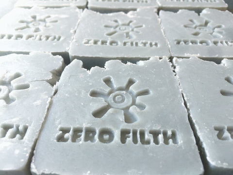 Primal Suds Zero Filth Soap - Bare Coconuts - Naked Pinecone