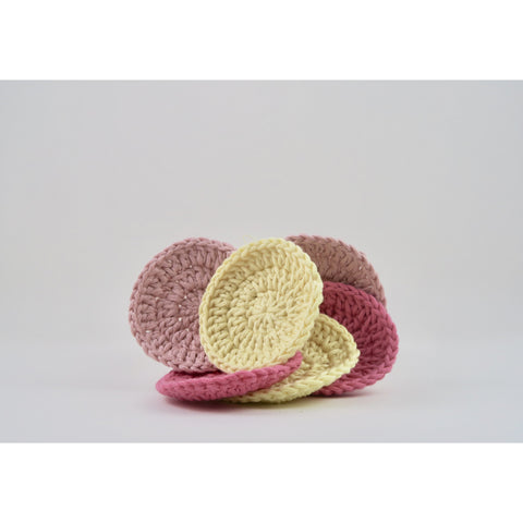 Dina's Handmade Organic Cotton Scrubbies - Naked Pinecone