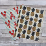 Homa London Reusable Beeswax Wraps - Medium Pack - Naked Pinecone