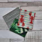Homa London Reusable Beeswax Wraps - Mixed Pack - Naked Pinecone