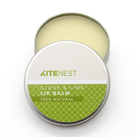 Kite Nest - Clove & Lime Lip Balm - Naked Pinecone