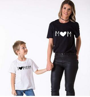 V Tree Family Matching Outfits Mother Daughter Dresses Father Son Clothes T Shirt