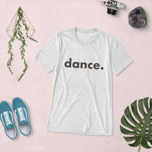 Load image into Gallery viewer, Dance. t-shirts for dancers men Grey