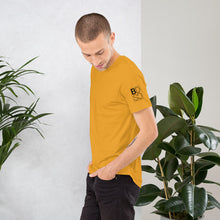 Load image into Gallery viewer, Brooklyn Dance Social Club t-shirts for dancers men Unisex Mustard Yellow