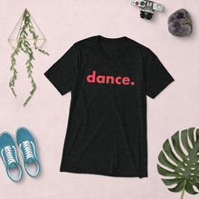 Load image into Gallery viewer, Dance. t-shirts for dancers men Black Red