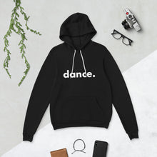 Load image into Gallery viewer, Dance. hoodie for dancers men women Black and White Unisex