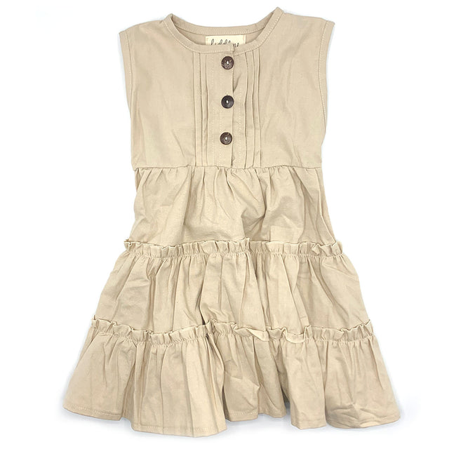 Liddlme Baby/Kids Sleeveless Sun Dress