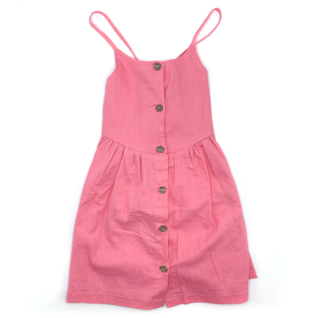 Liddlme Pink Sundress