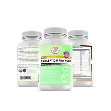 Load image into Gallery viewer, ConceptionPro PCOS, One Stop Formula - 300 Vegetarian Soft Capsules - Positive Naturals