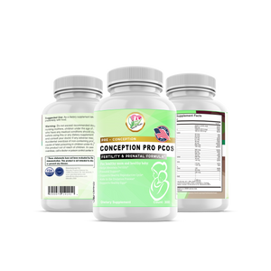 ConceptionPro PCOS, One Stop Formula - 300 Vegetarian Soft Capsules - Positive Naturals