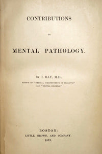 Contributions to mental pathology