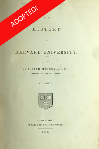 The History of Harvard University