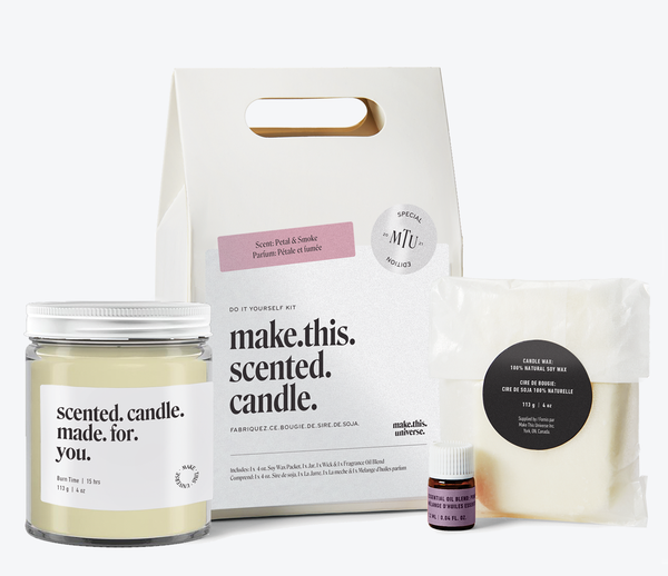 Make This Scented Candle: Petal & Smoke