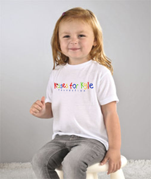 Kisses for Kyle Toddler Tee Shirt