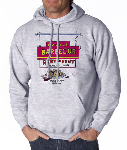 Orville BBQ Diner - Hooded Pullover