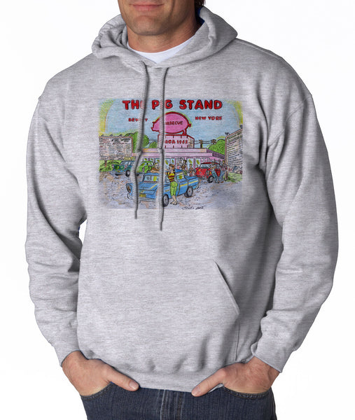 Pig Stand - Hooded Pullover