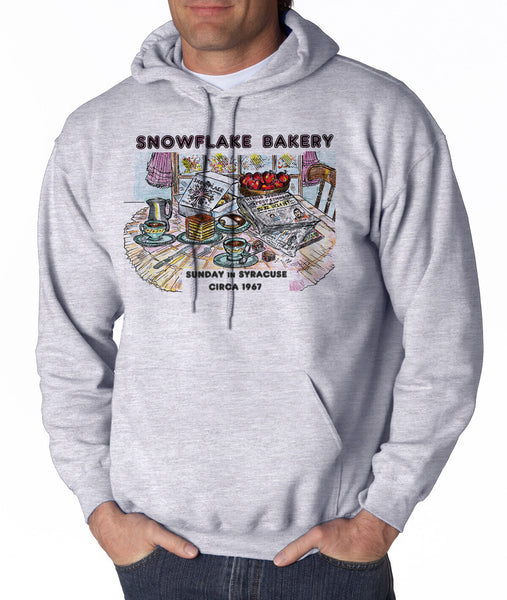 Snowflake Bakery - Hooded Pullover