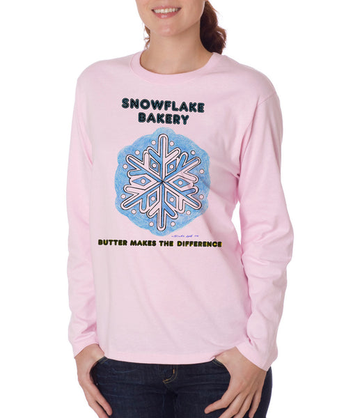 Snowflake Flake - Long Sleeve
