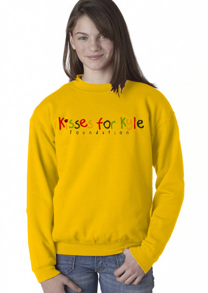 Kisses for Kyle Youth Sweatshirt