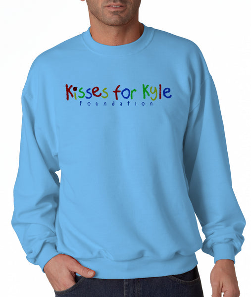 Kisses for Kyle Adult Sweatshirt