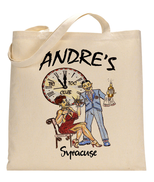 Andre's Canvas Tote Bag