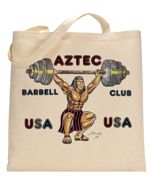Aztec Canvas Tote Bag