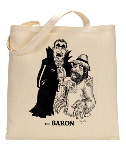 The Baron Canvas Tote Bag