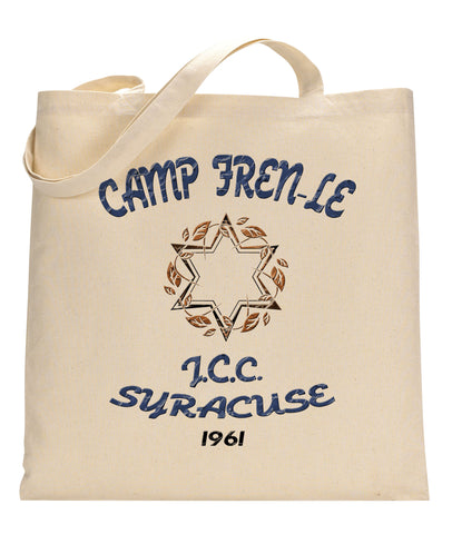 Camp Fren-Le Canvas Tote Bag