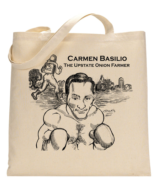Carmen Basilio Canvas Tote Bag