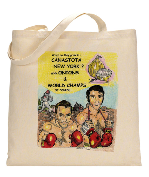 Canastota Canvas Tote Bag