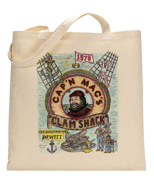 Cap 'N Mac's Canvas Tote Bag