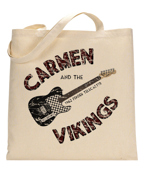 Carmen & the Vikings Canvas Tote Bag