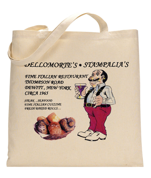 Dellomorte's Canvas Tote Bag