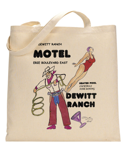 Dewitt Ranch Canvas Tote Bag