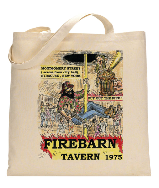 Firebarn Tavern Canvas Tote Bag
