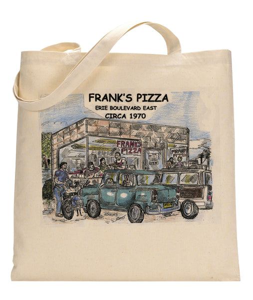 Frank's Pizza Canvas Tote Bag