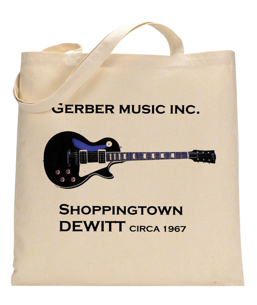 Gerber Music Canvas Tote Bag