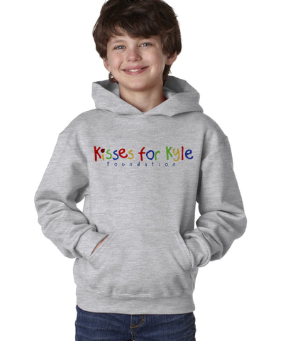 Kisses for Kyle Youth Hooded Pullover