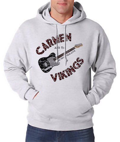 Carmen and Vikings - Hooded Pullover