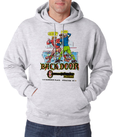 Backdoor Tavern - Hooded Pullover