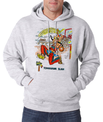 Tomahawk Slam - Hooded Pullover