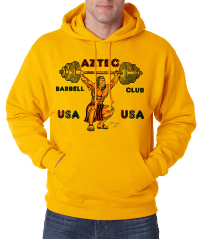Aztec Barbell Club - Hooded Pullover