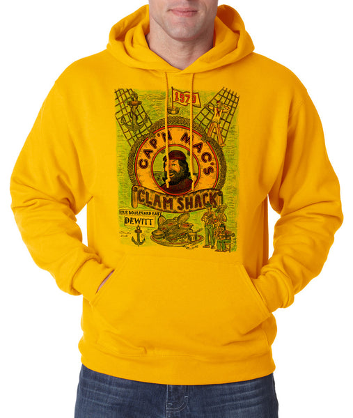 Cap N' Mac's - Hooded Pullover