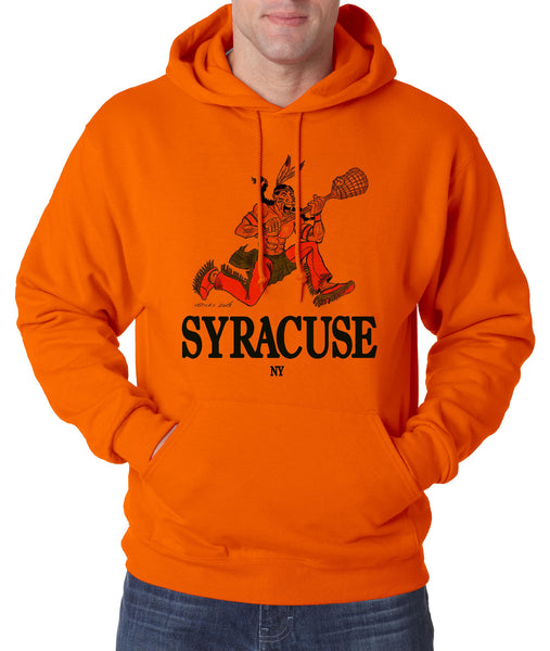 Syracuse Indian Lacrosse - Hooded Pullover