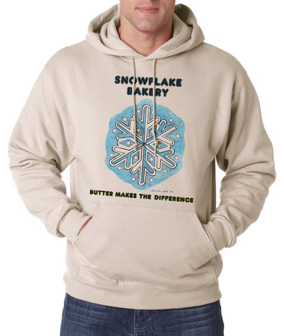 Snowflake Flake - Hooded Pullover