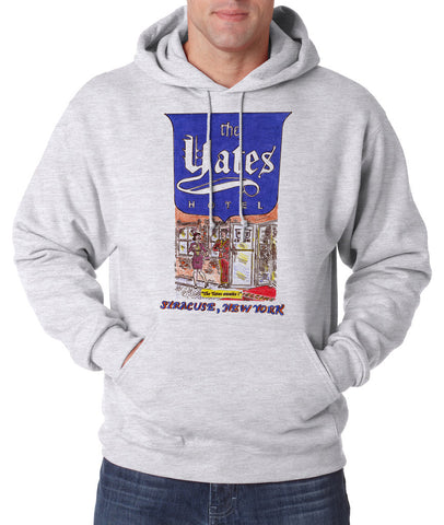 Yates Hotel - Hooded Pullover