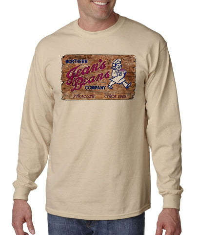 Jean's Beans - Long Sleeve