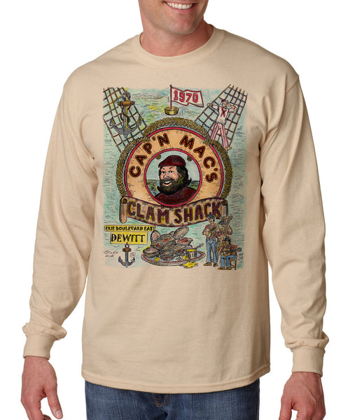 Cap N' Mac's - Long Sleeve